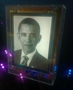 2009 Laureate, President Obama