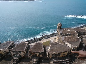 View from Castillo San Felipe del Morro or 'El Morro'