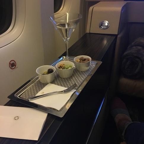 Aperitif: Martini Bianco